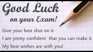 Exam Wishes To Students | Motivational Exam Time Quotes | Examination