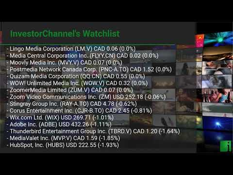 InvestorChannel's Media Watchlist Update for Tuesday, July ... Thumbnail