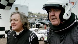Rallycross on a Budget Part 1 | Series 18 | Top Gear | BBC