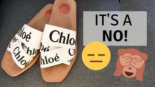 5 Reasons NOT To Buy The Chloé Woody Flat Mule Sandals! The Trendiest Lux Sandals | Laine's Reviews