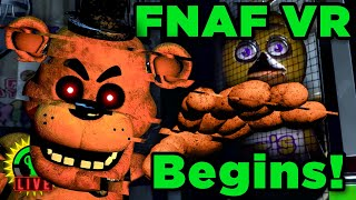 The New FNAF VR Game Is Officially Here! | Five Nights at Freddy's VR: Help Wanted (Part 1)