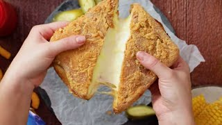 The Perfect Grilled Cheese Sandwich Should Be Deep-Fried | Tastemade