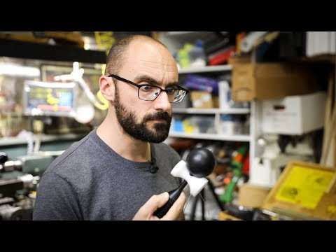 Adam Savage and Vsauce's Michael Stevens Build a Kendama!