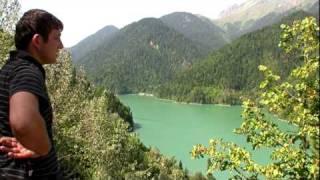 Поездка на озеро Рица (Абхазия), ч.1.