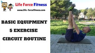 Basic Equipment 5 Exercise Circuit Training