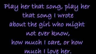 Play Me That Song - Brantley Gilbert (lyrics)