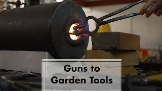 Arts District: Guns to Garden Tools