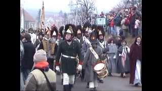 preview picture of video '.Battle of Austerlitz Tvarožná 2004.Part 1.Bitva u Slavkova 1.částTvarožná 2004.'