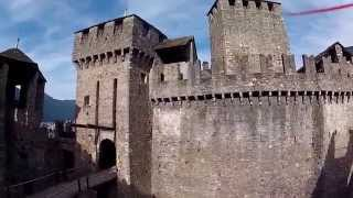 preview picture of video 'Castello di Montebello - Bellinzona'