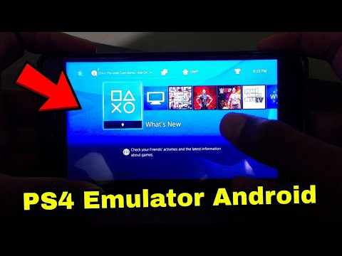 🥇 How to download PS4 emulator for Android // Play all ps4 games on