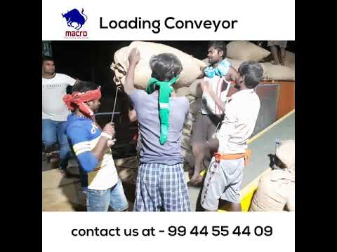 Rice Mill Loading Unloading Conveyors