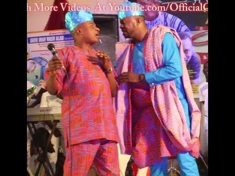Olaiya Igwe's Turns Comedian As He Throws Shot @ Pasuma,his colleagues &Mr Paragon At His Birthday