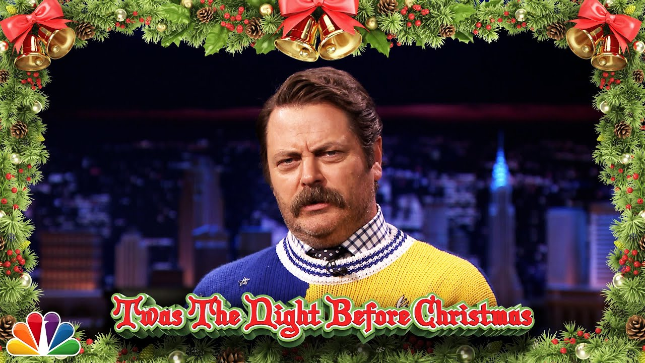 Nick Offerman Reads 'Twas the Night Before Christmas thumbnail