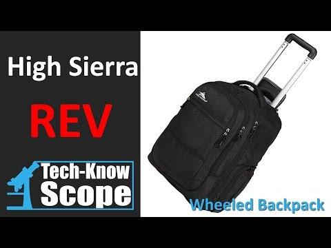 High Sierra Rev Wheeled Backpack Review