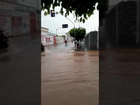 muita chuva em Brejo Santo CE dia 20.02.18