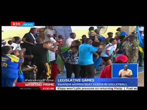 Weekend Prime: Rwanda Women beat Kenya in the Legislative volleyball games