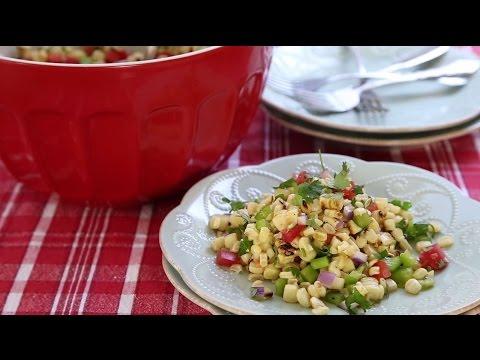 How to Make Grilled Corn Salad | Grilling Recipes | Allrecipes.com