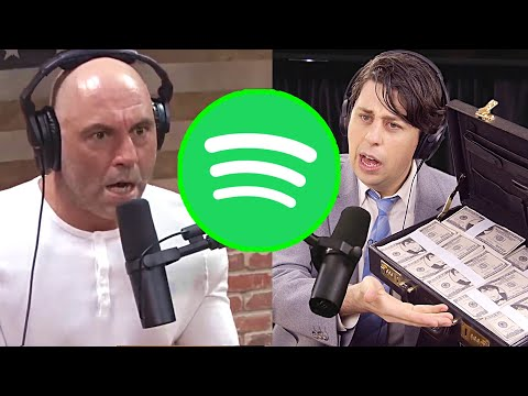 Spotify Exec Tries to Buy Joe Rogan Podcast