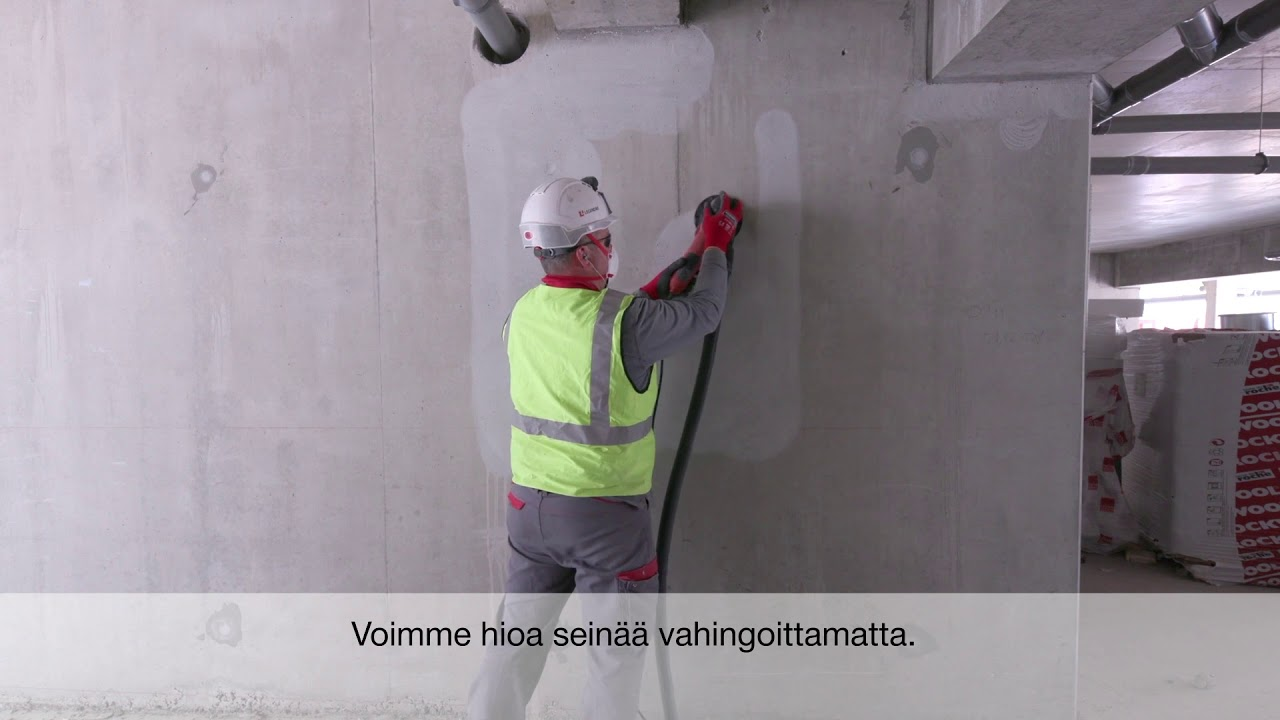Customer Testimonial: Hilti DGH 130 Concrete Grinder