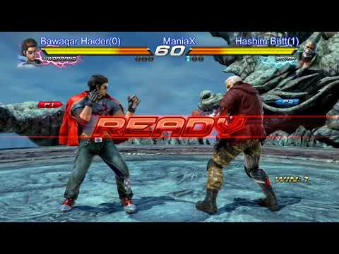 Download Tekken 7 Bawaqar Haider(Howrang) Vs Hashim Butt(Bryan) ManiaX Fighters Cup S2 HD Mp4 3GP Video and MP3