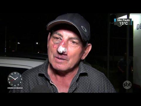 Prefeito é agredido por criminosos durante assalto na Grande SP