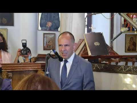 MENETEΣ ΚΑΡΠΑΘΟΣ 5 ΟΚΤΩΒΡΙΟΥ 2020 Εορταστικές εκδηλώσεις για την 76η επέτειο της απελευθέρωσης της Καρπάθου παρουσία της ΠτΔ Κατερίνας Σακελλαροπούλου  Πανηγυρικός από τον Υπουργό επικρατείας Γιώργο B. Γεραπετρίτη, στην Παναγία των Μενετών Καρπαθου