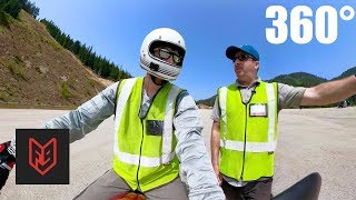Motorcycle License Skills Test - 360 Interactive Video