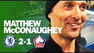 PULISIC INSPIRING American Kids | Matthew McConaughey | Chelsea 2-1 Lille