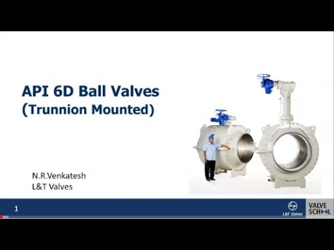 L&T Trunnion Mounted Ball Valves