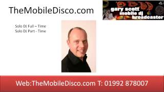 preview picture of video 'How To Book A DJ  Types Of DJ - Gary Scott Hertfordshire Wedding and Party DJ - Mobile Disco'
