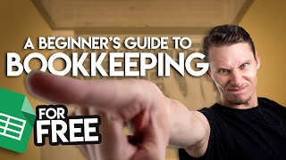 How To Start Bookkeeping (FREE Template)