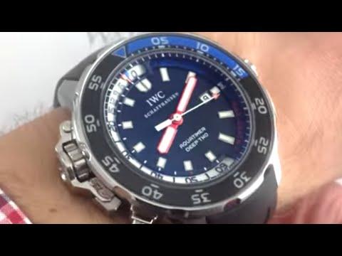 IWC Aquatimer Deep Two 3547-02 Luxury Watch Review
