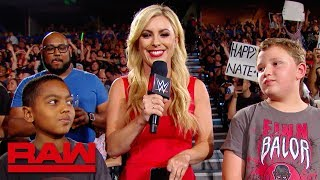 """Young fans play """"What's My Name?"""": Raw Exclusive, July 22, 2019"""
