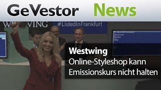 Börsengang: Westwing kann Emissionskurs nicht halten