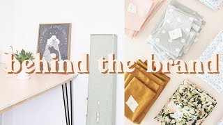 Behind The Brand #2 | Making Wrap Skirts +  A New Project