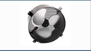 Solar Powered Exhaust Fan and Ventilator - 35W - Adjustable - 12