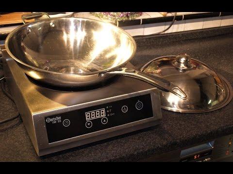 Getestet: Meinen neuen Induktions Wok mit 3500 Watt Leistung