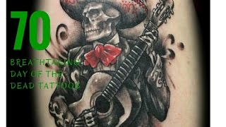 70 Bone-Tingling Day of the Dead Tattoos