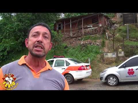 Defesa Civil de Juquitiba pede para família sair urgente do Barraco na Favela dos Brancos