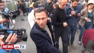 Ինչպես դիմակավորված ոստիկանները տարան Սասուն Միքայելյանին