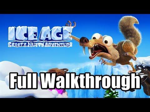 Gameplay de Ice Age Scrats Nutty Adventure