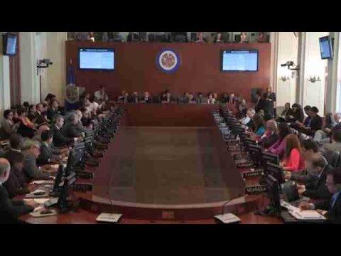 OEA aprobó reunión de cancilleres para revisar situación de Venezuela