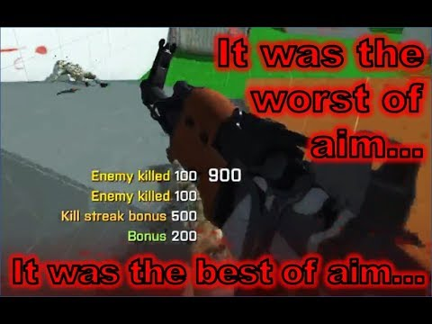 SkillWarz | It Was the Worst of Aim, It Was the Best of Aim: Spawntrapping the Whole Team By Myself