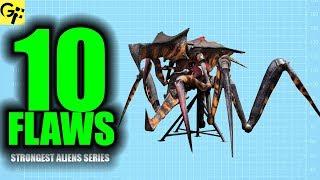 10 Flaws ARACHNIDS Starship Troopers | Strongest Aliens Series