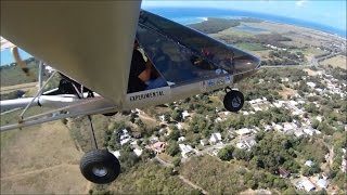 My first flight in my new (to me) airplane Rans S-12 XL Airaile