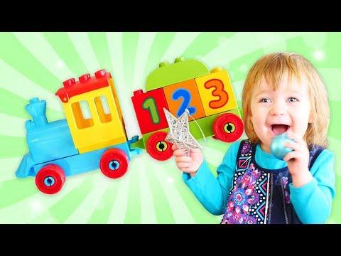 Дада игрушки - Бьянка и волшебный паровозик - Развивающие игрушки