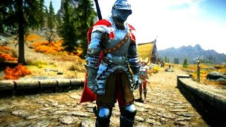 Skyrim: Броня Берн + Тяжелый двуручный меч