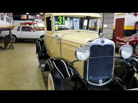 Video of '31 Model A 5 window coupe with rumble seat - M8ZN