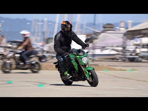 Kawasaki Z125 Pro First Ride Review at RevZilla.com