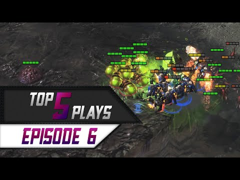 Download StarCraft 2: TOP 5 Plays - Episode 6 HD Mp4 3GP Video and MP3